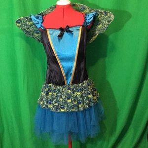 Women's Fantasy Peacock Large Costume.